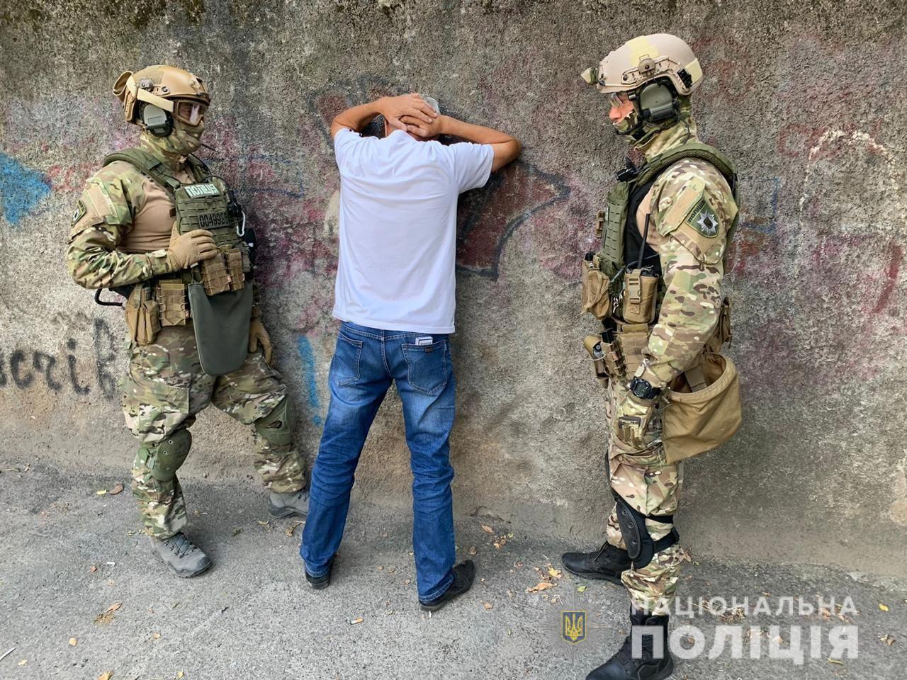 Задержали банду вооруженных рекетиров. Новости Днепра