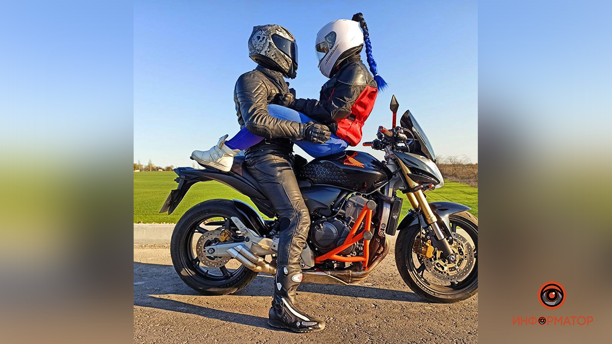 В области автокран подрезал мотоцикл. Новости Днепра