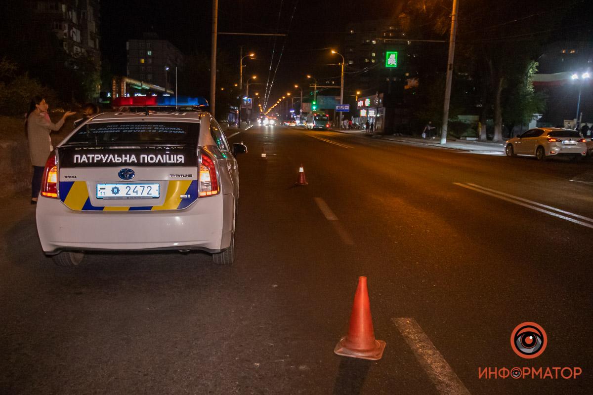 В Днепер автомобиль сбил ребенка