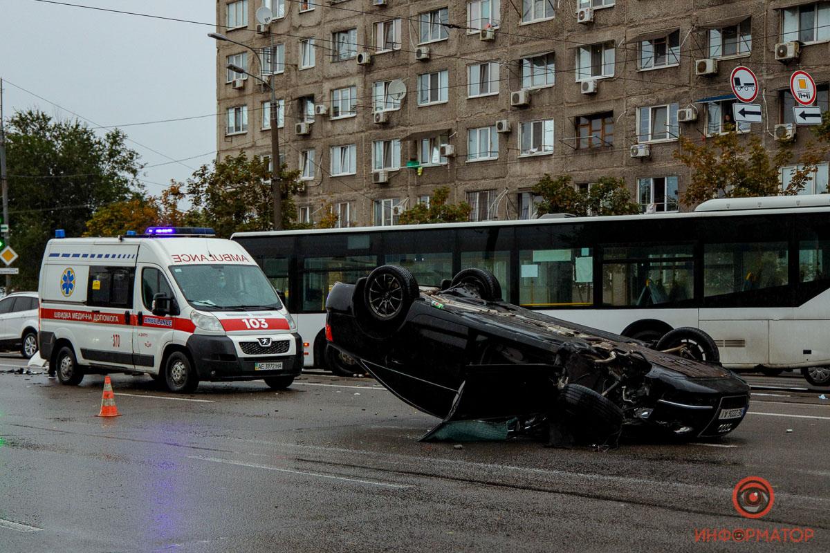ДТП на проспекте Слобожжанский. Новости Днепра