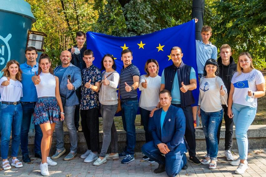 Новости Днепра про Днепр отпраздновал Европейский день Языков!