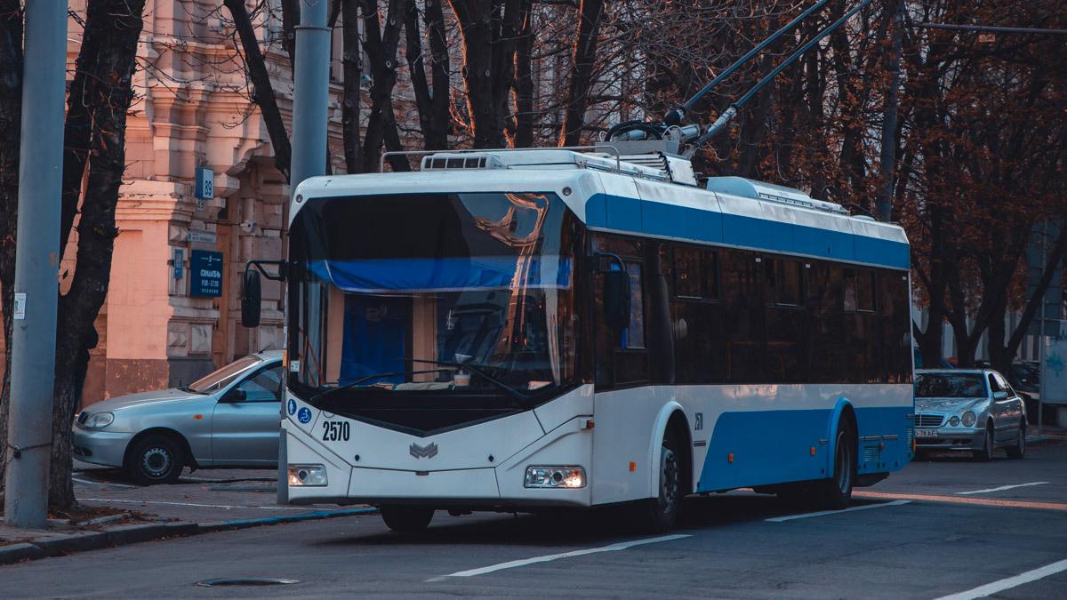 Два троллейбуса вернутся на привычный маршрут. Новости Днепра
