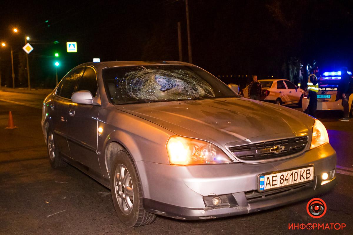 В Днепре мужчина попал под колеса авто. Новости Днепра