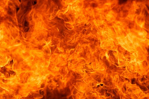 В области на пожаре пострадал мужчина. Новости Днепра