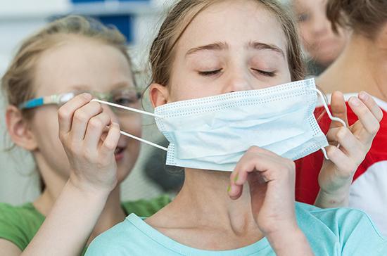Будет ли государство обеспечивать детей масками. Новости Днепра