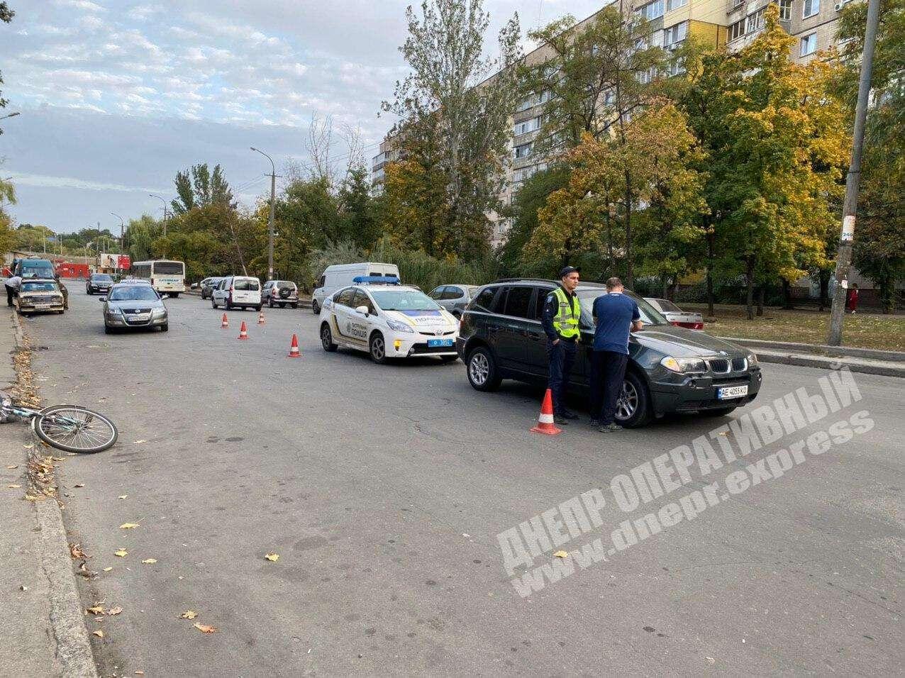 В области в ДТП пострадал мужчина. Новости Днепра