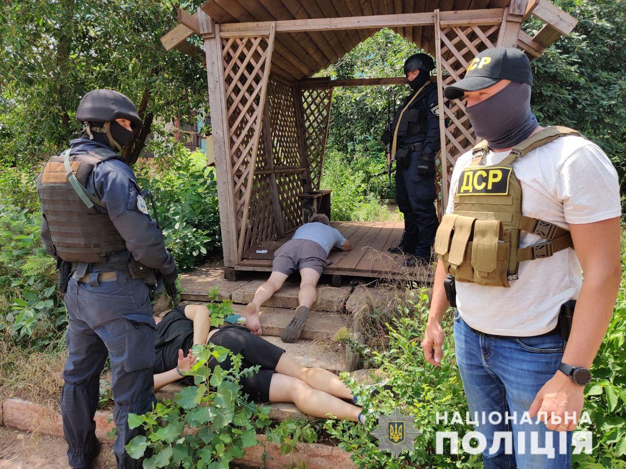Задержали банду вооруженных вымогателей. Новости Днепра