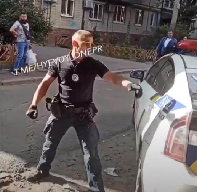 В области наркоман напал на полицейских. Новости Днепра