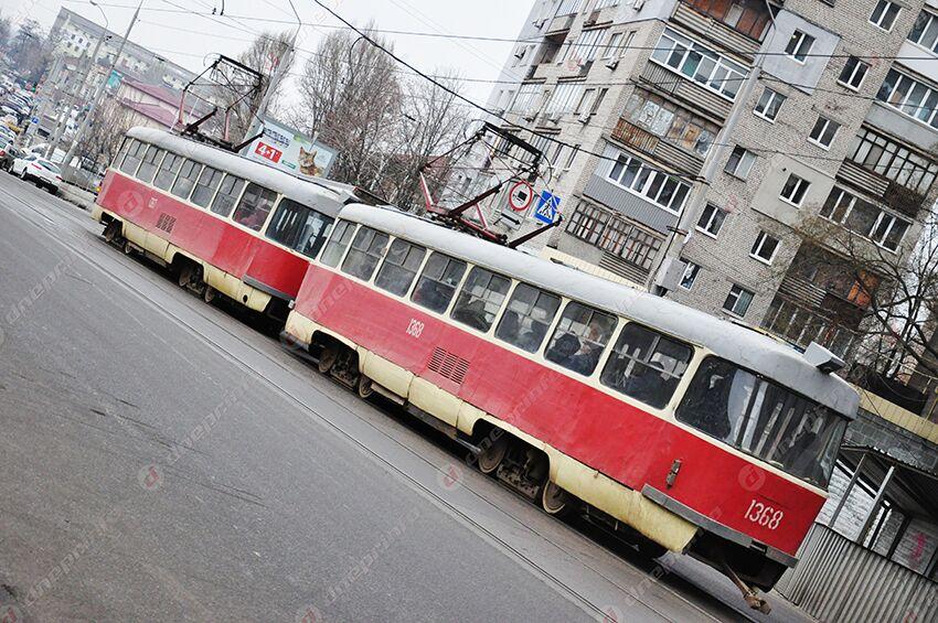 В Днепре трамваи изменят свое движение