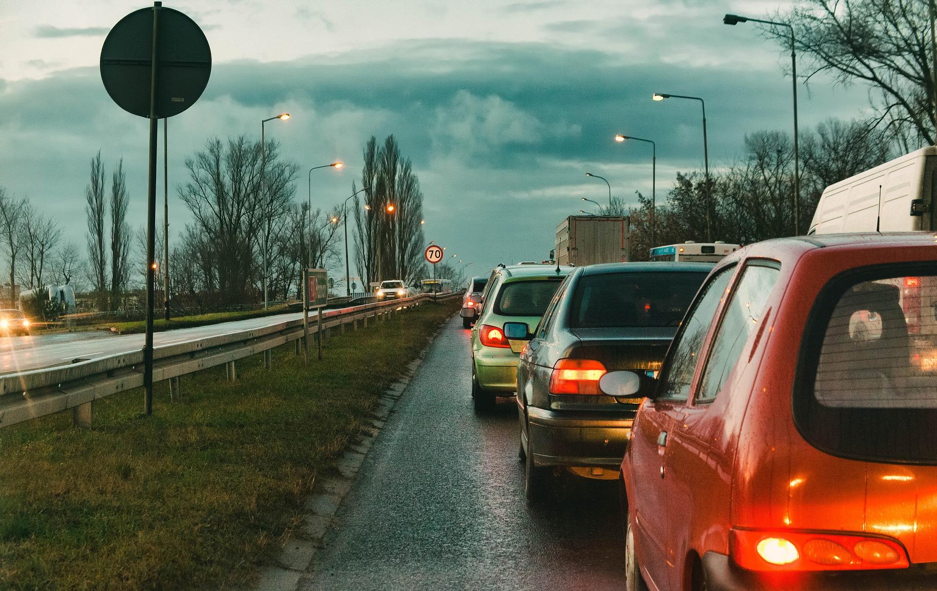 Пробки в Днепре