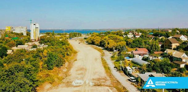 Начато строительство еще двух участков Объездной Днепра.