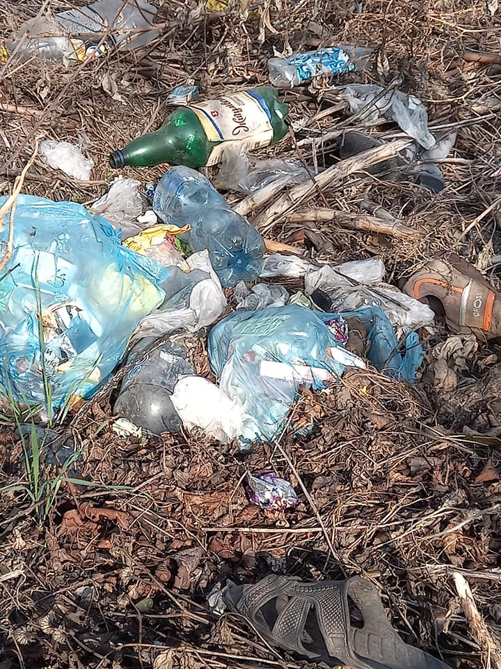 Местные жители не убирают за собой мусор. Новости Днепра