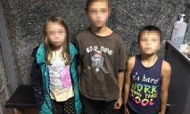 Под Днепром горе-мать бросила троих детей без присмотра
