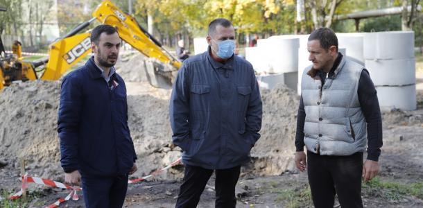 Борис Филатов о строительстве ливневой канализации на жилмассиве Победа: «Это — решение проблемы, за которую не брались за все годы независимости страны»