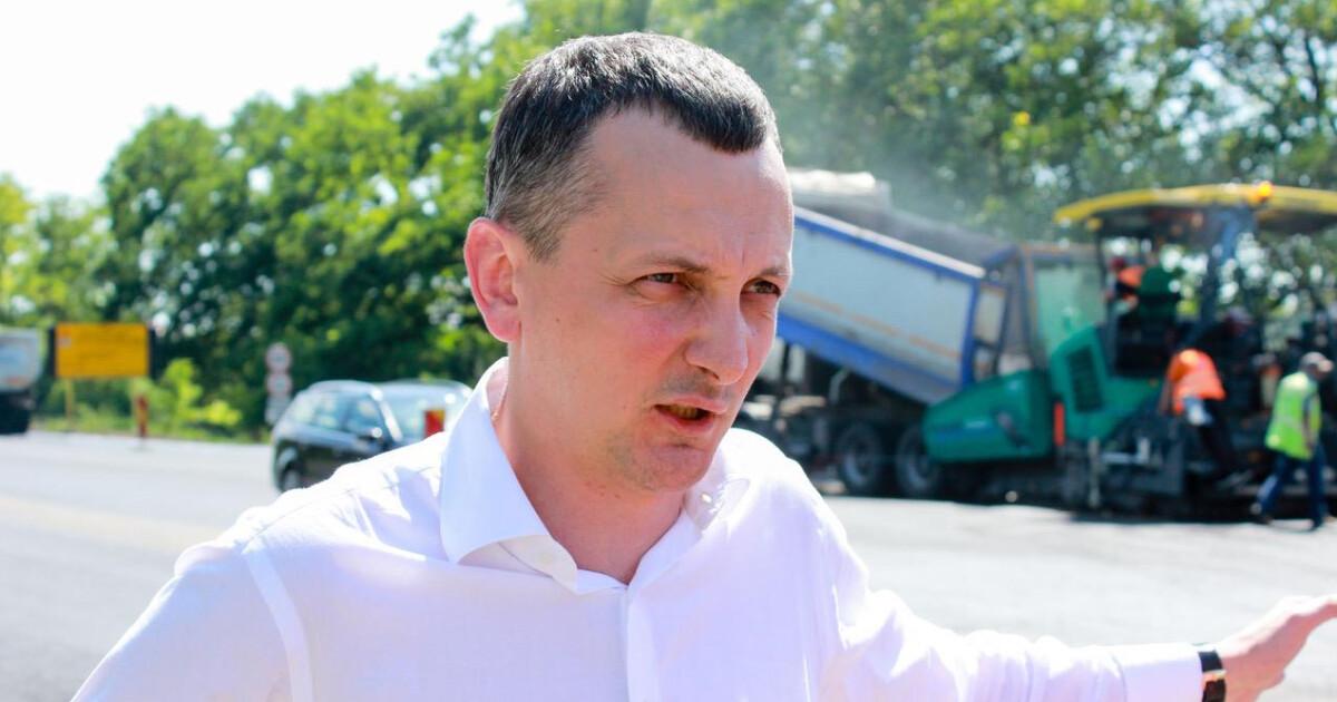 Новости Днепра про Что происходит на строительстве трассы Днепр-Решетиловка в Днепропетровской области – фотофакт