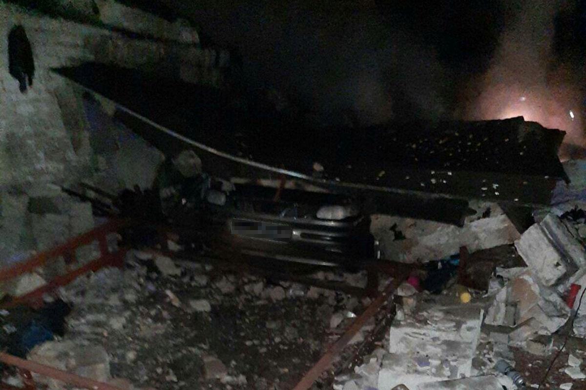 В гараже случился пожар. Новости Днепра