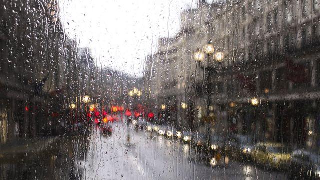 В Днепре прошел ливень. Новости Днепра