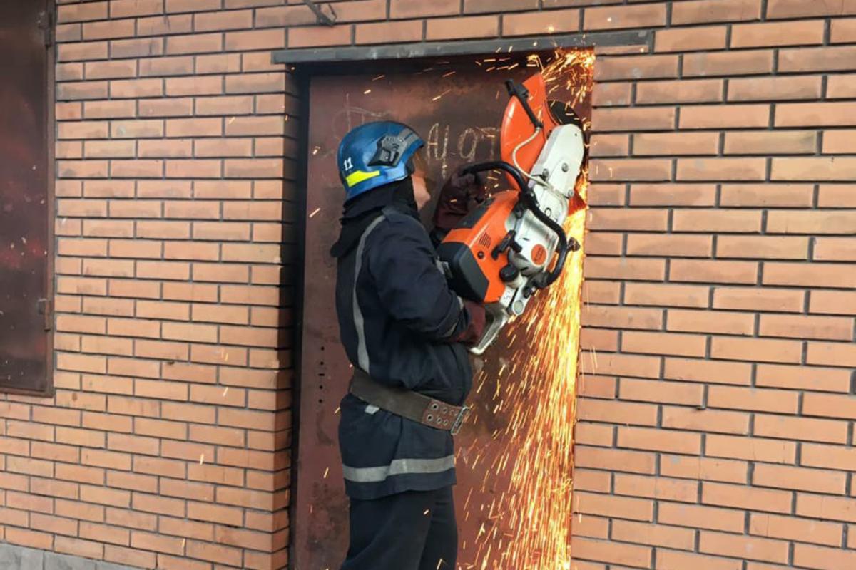 Пожар в магазине. Новости Днепра
