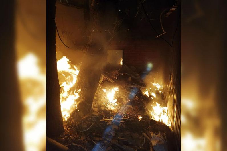 Пожар. Новости Днепра