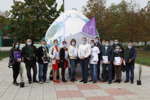 10 октября на Днепропетровщине состоялось первое мероприятие в рамках акции по озеленения страны «Сады будущего». Новости Днепра