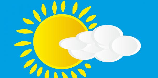 Переменная облачность и пожарная опасность: погода в Днепре и области