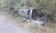 ДТП под Днепром: перевернулся автомобиль, мужчину забрала скорая