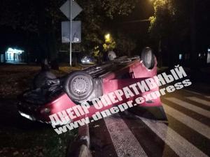 К счастью, в аварии никто из граждан не пострадал. Новости Днепра