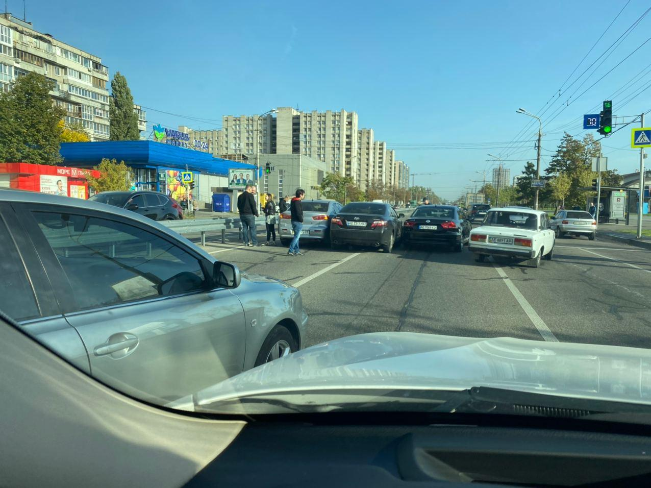 Авария в Днепре. Новости Днепра