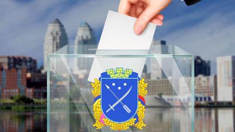 Температурный скрининг, маски и очереди: как голосуют днепряне на местных выборах
