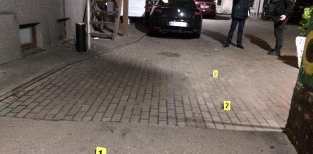 Стрельба и поножовщина в ресторане Днепра: появилось видео с места происшествия
