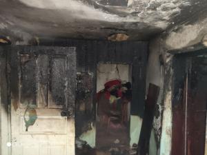 У пострадавших ожоги, отравдение ядовитым дымом и стресс. Некоторые из них находятся в больнице. Новости Днепра