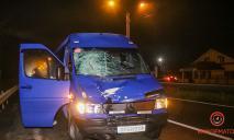 Смерть под колесами авто: под Днепром микроавтобус насмерть сбил пешехода