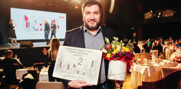 Пиксельная днепровская стена стала лучшей в конкурсе «Проект года»