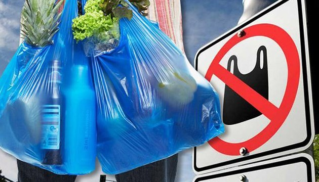 Запрет на пластиковые пакеты. Новости Днепра