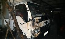 Грузовик в огне: спасатели боролись с возгоранием, фотофакт