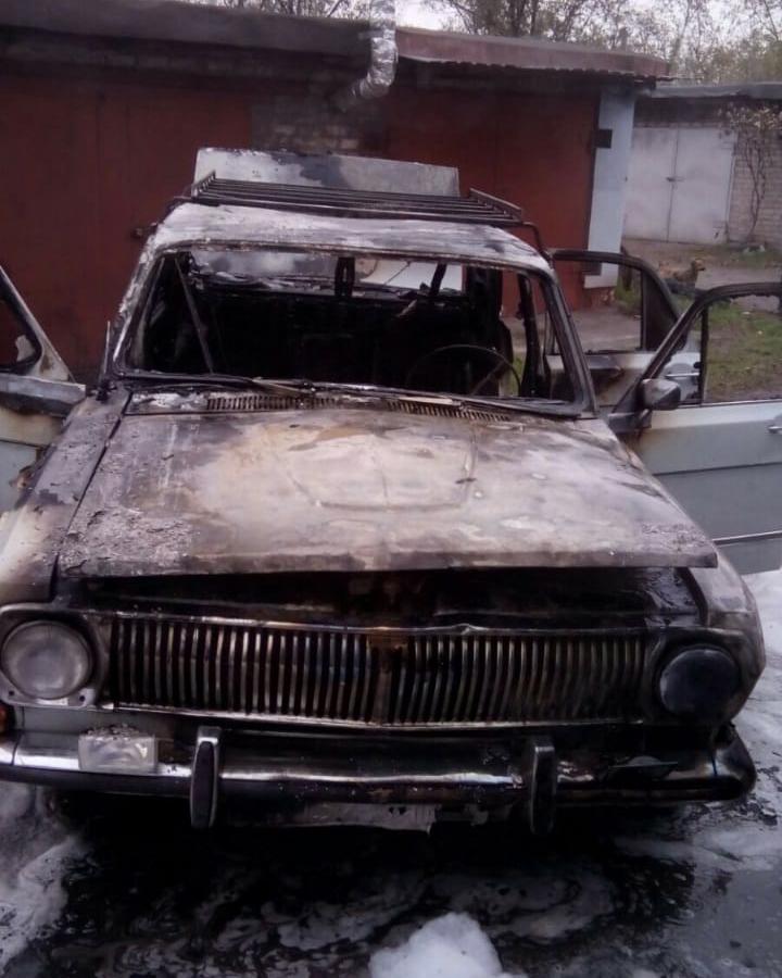 гараж сгорел вместе с машиной. Новости Днепра