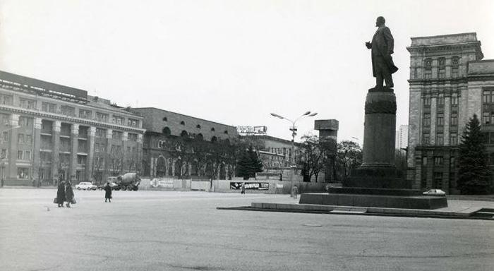 Памятник Ленину. Новости Днепра