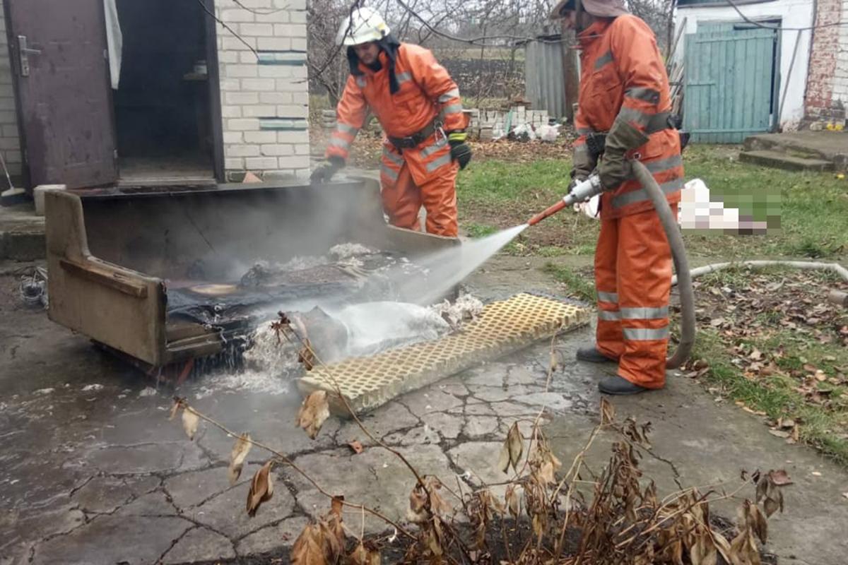 Страшная смерть на пожаре. Новости Днепра
