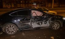 Автомобиль с места аварии уехал, но от камер наблюдения не скрылся