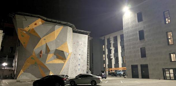 Где в центре Днепра «прячется» скалодром