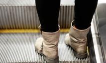 ЧП под Днепром: волосы женщины затянуло в эскалатор
