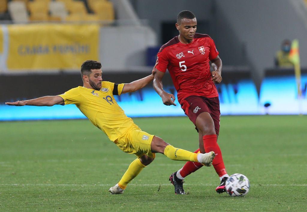 Матч сборной Украины в Лиге наций