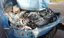 Машина в дребезги: ДТП в Днепре с участием маршрутки