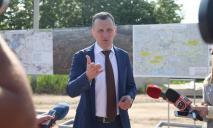 Юрий Голик: Началась реконструкция разрушенного моста под Никополем