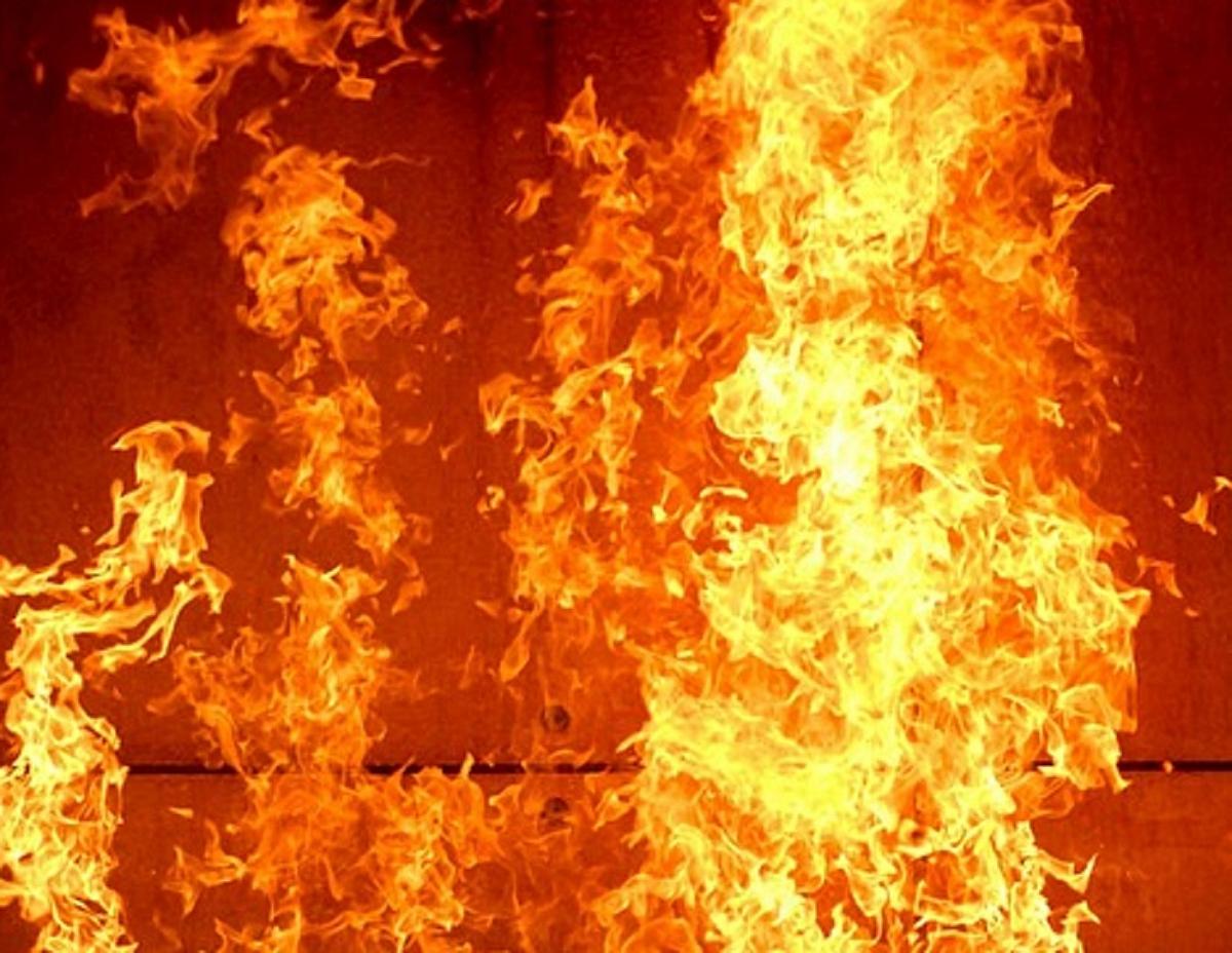Пожар в области. Новости Днепра