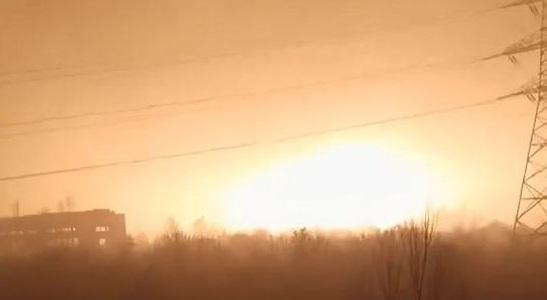 На Днепропетровщине люди проснулись от звуков взрыва