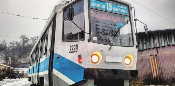 Трамваи в Днепре изменят маршрут и график движения