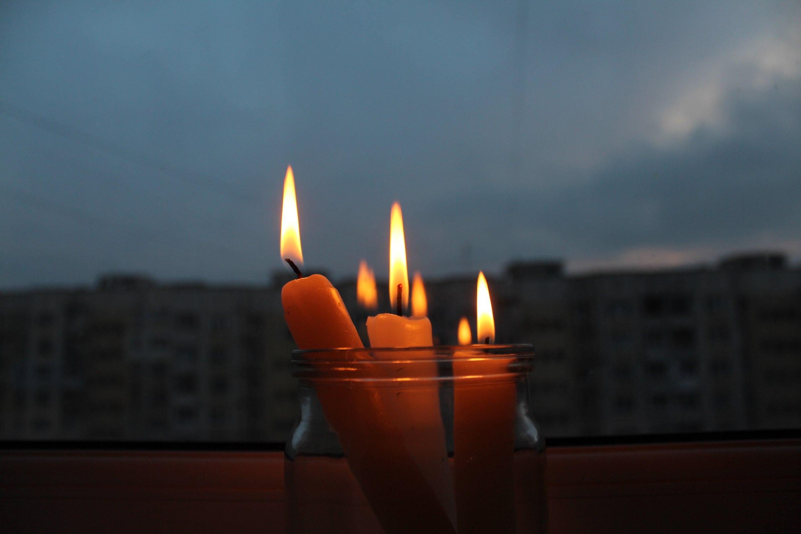 Выходные при свечах. Новости Днепра