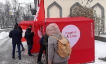 Тарифный геноцид: Шарий проводит свою акцию в Днепре