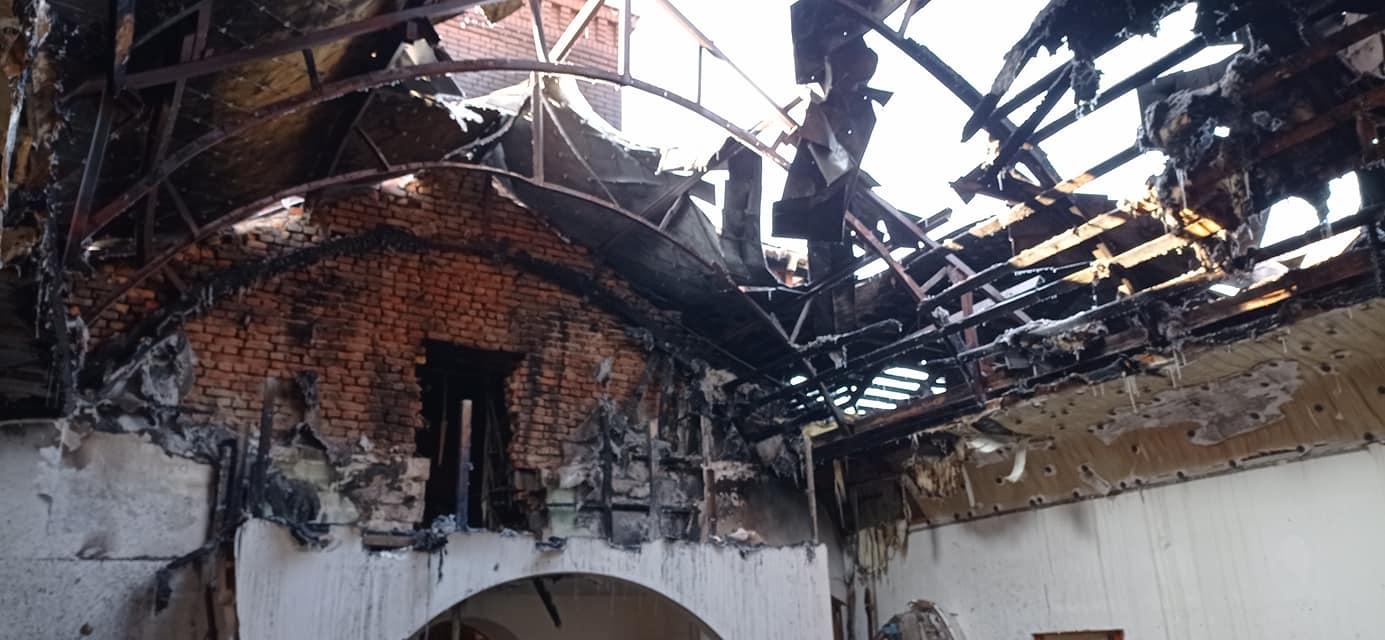 Подробности пожара. Новости Днепра